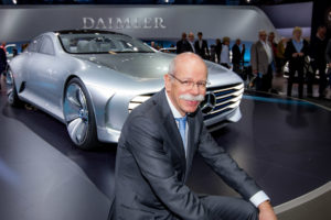 Dr Dieter Zetsche, head of Mercedes-Benz Cars