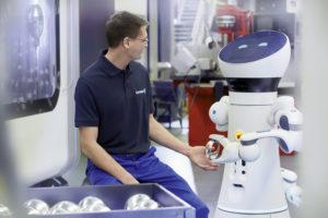 schunk gripping robot