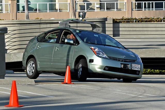driverless car test
