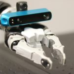 Clever idea to place eyes on robot hand helps machine to map surroundings and location