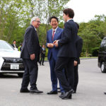 Japan leader promotes robot revolution at G7 Summit