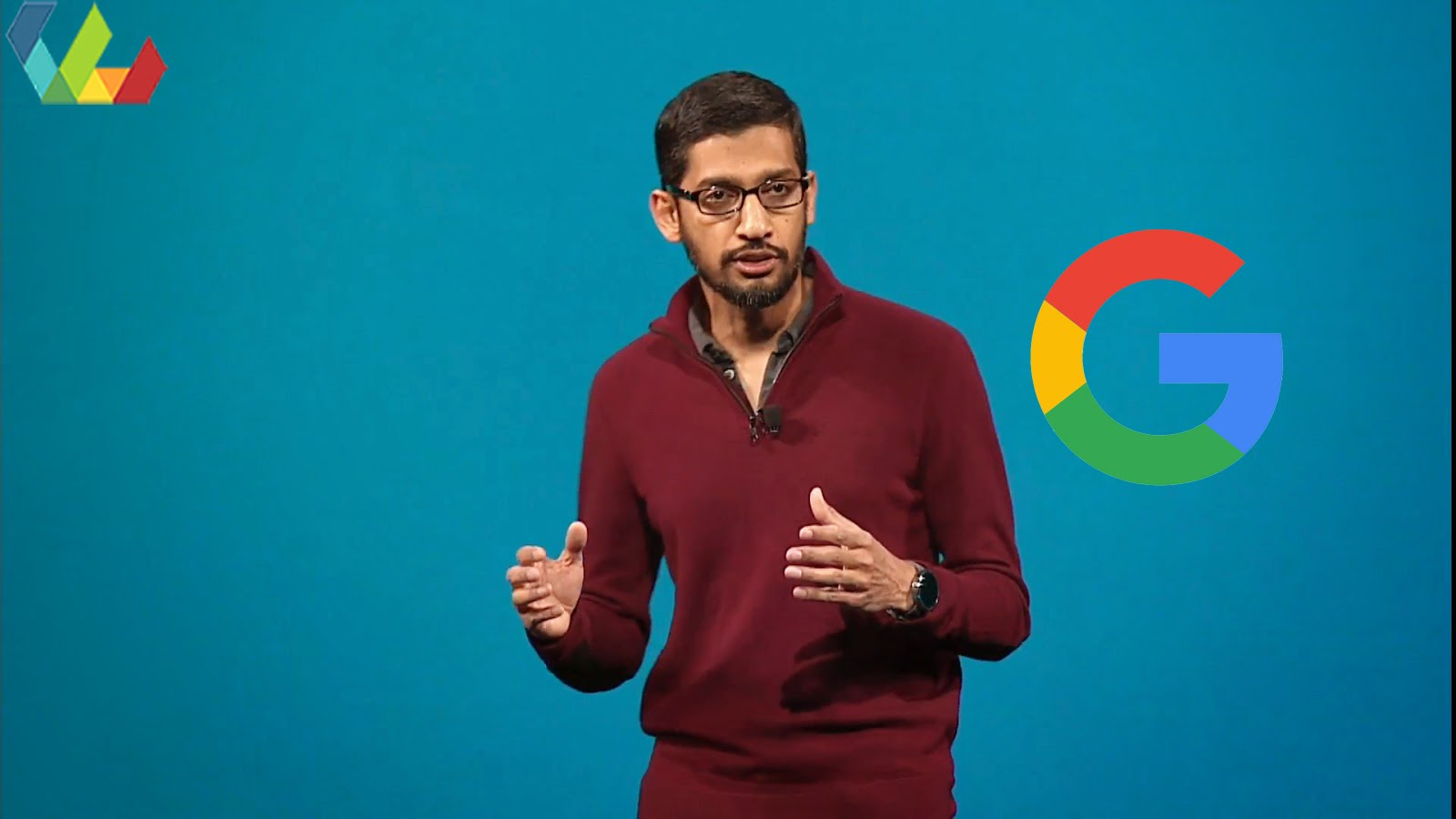 Google boss downplays devices and talks up artificial intelligence