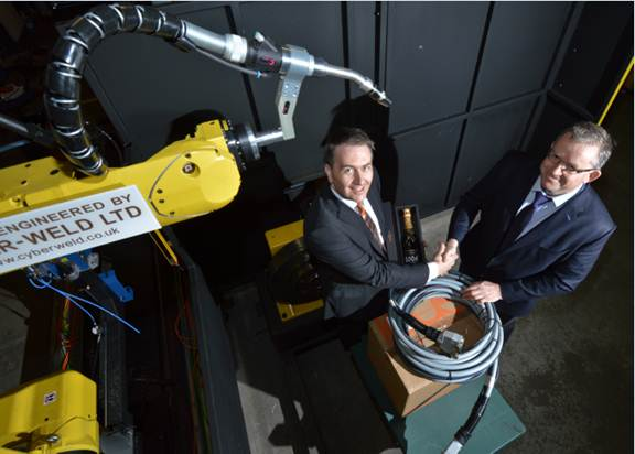 Igus receives 10,000th order from robotics company