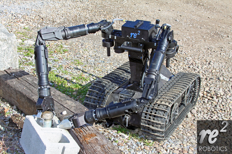 RE2 delivers two-armed robot to US Army