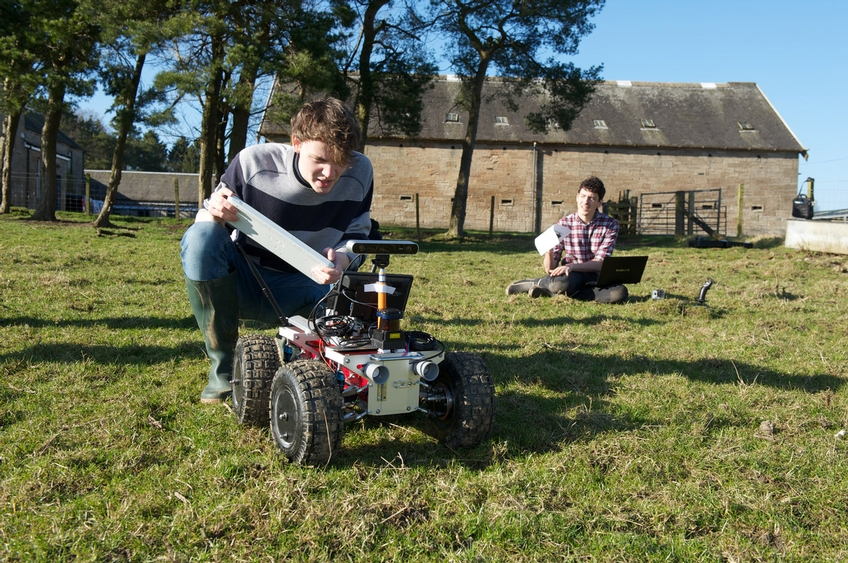 Robots from Mars to help reduce the environmental impact of farming