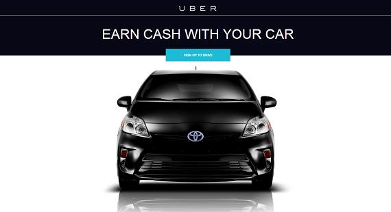 toyota uber