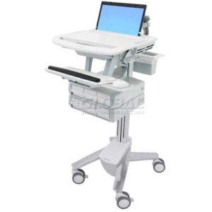 Ergotron StyleView Healthcare Laptop Cart, 6 Drawers, SV41-3160-0 2
