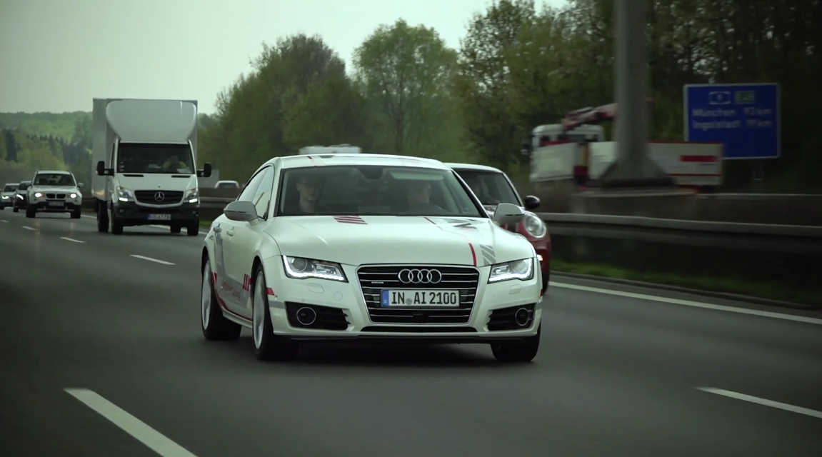 Audi boasts its piloted driving tech is the best in the world