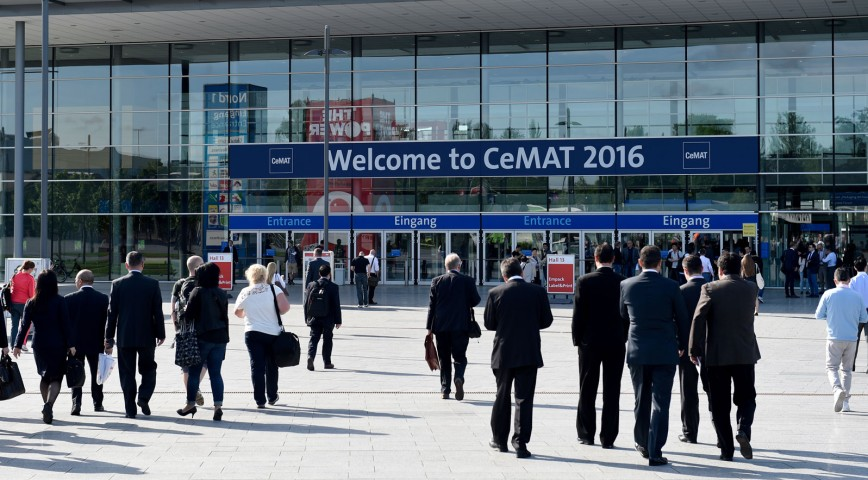 Autonomous vehicles 'major attraction' at CeMAT logistics fair