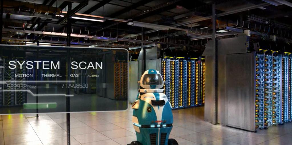 Fully autonomous security robot prepares to terrify intruders