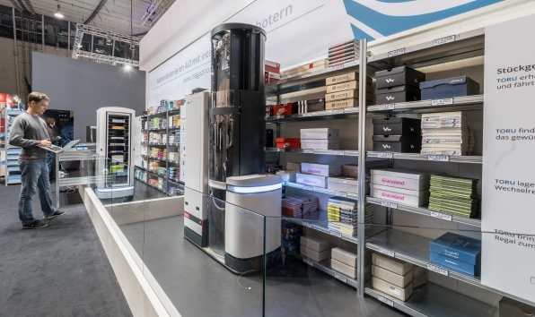 'World's first' independently operating warehouse robot happy in new job