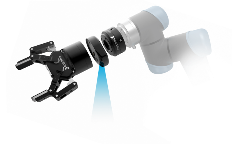 robotiq vision guided robotic hand system