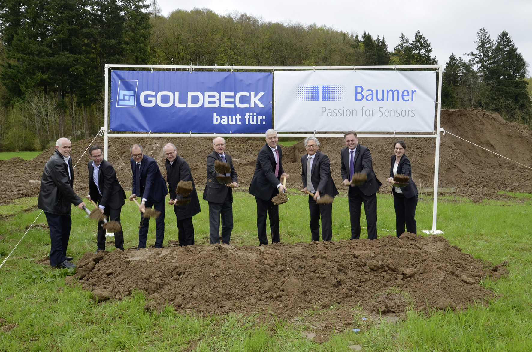 Baumer invests in a new development and logistics center