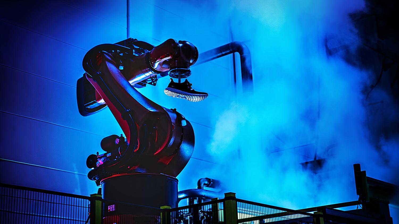 adidas speedfactory robots making trainers