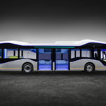 Mercedes autonomous bus takes passengers towards a future of 'spectacular' smart cities