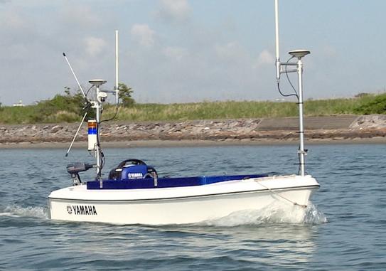 Yamaha Breeze autonomous boat