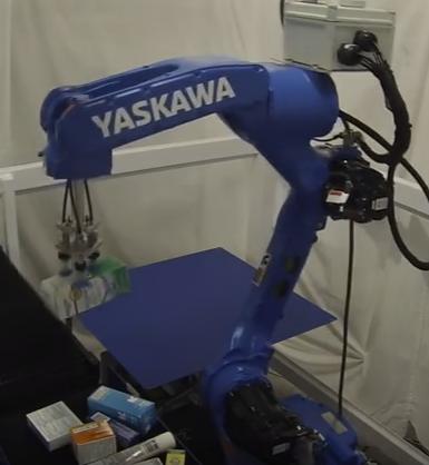 yaskawa motoman drug dealing robot