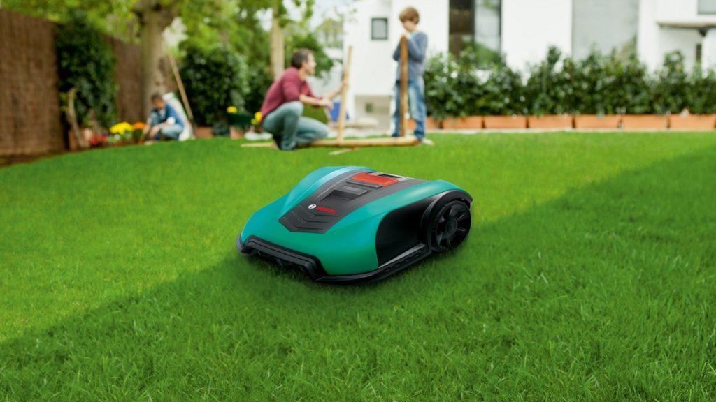 bosch robotic lawn mower