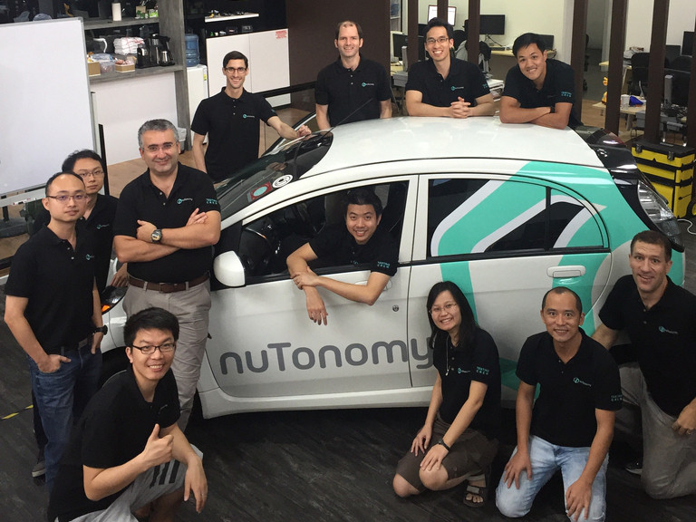 nuTonomy launches 'world's first' public trial of self-driving car service and ride-hailing app