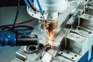 or laser additive manufacturing