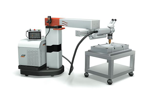 or laser additive manufacturing powder jet welding small