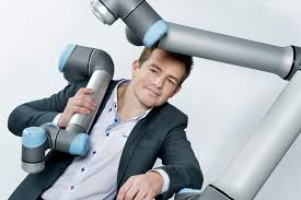 Daniel Friis, chief commercial officer of Universal Robots