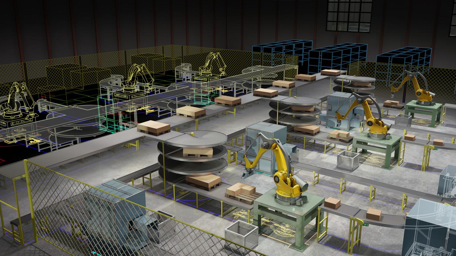iiot robots factory
