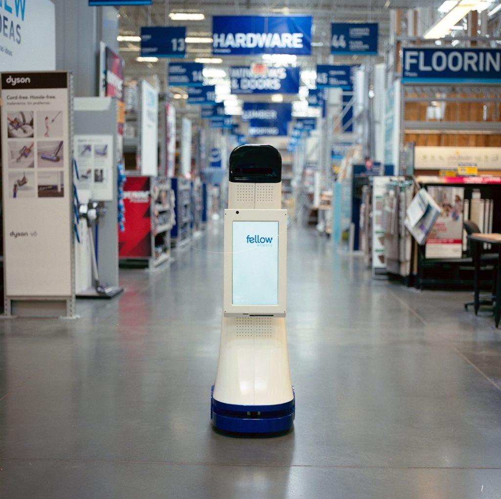LoweBot, a NAVii autonomous retail service robot by Fellow Robots