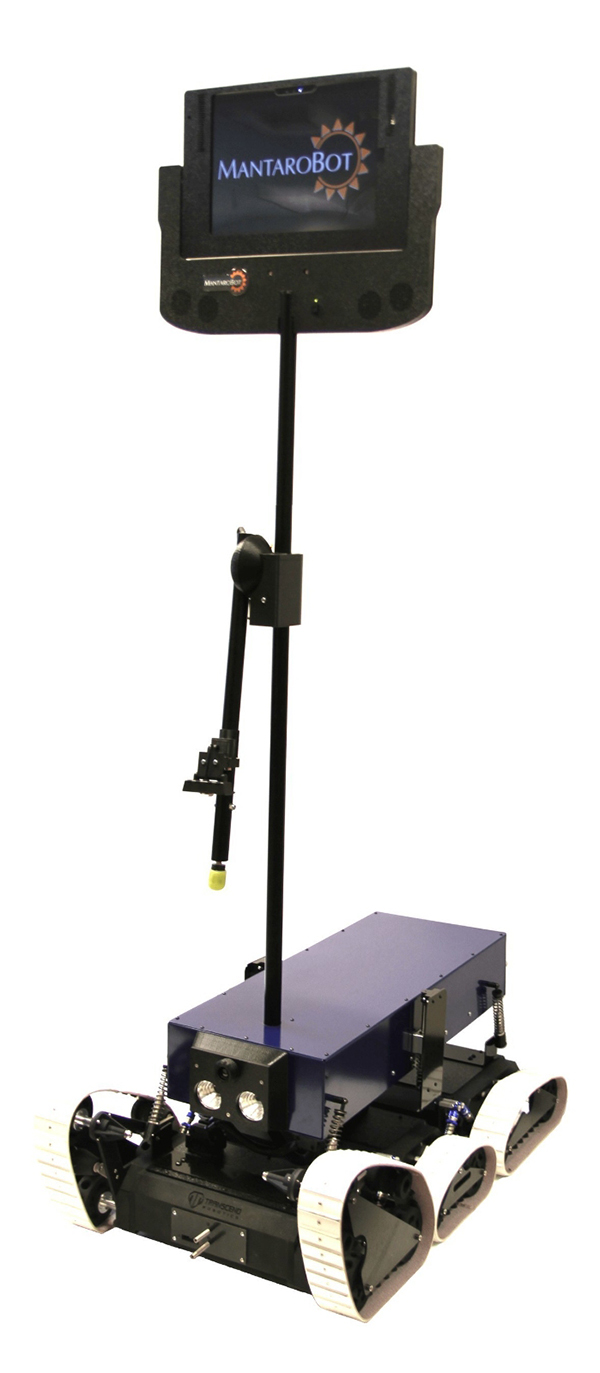 Mantaro launches 'rugged' telepresence robot for industrial settings