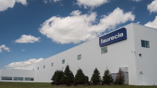 Faurecia launches $64 million smart factory in Columbus, Indiana