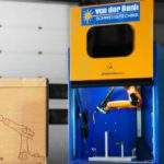 Paul von der Bank invents 'world's smallest' robotic arc welding cell using Kuka industrial robot