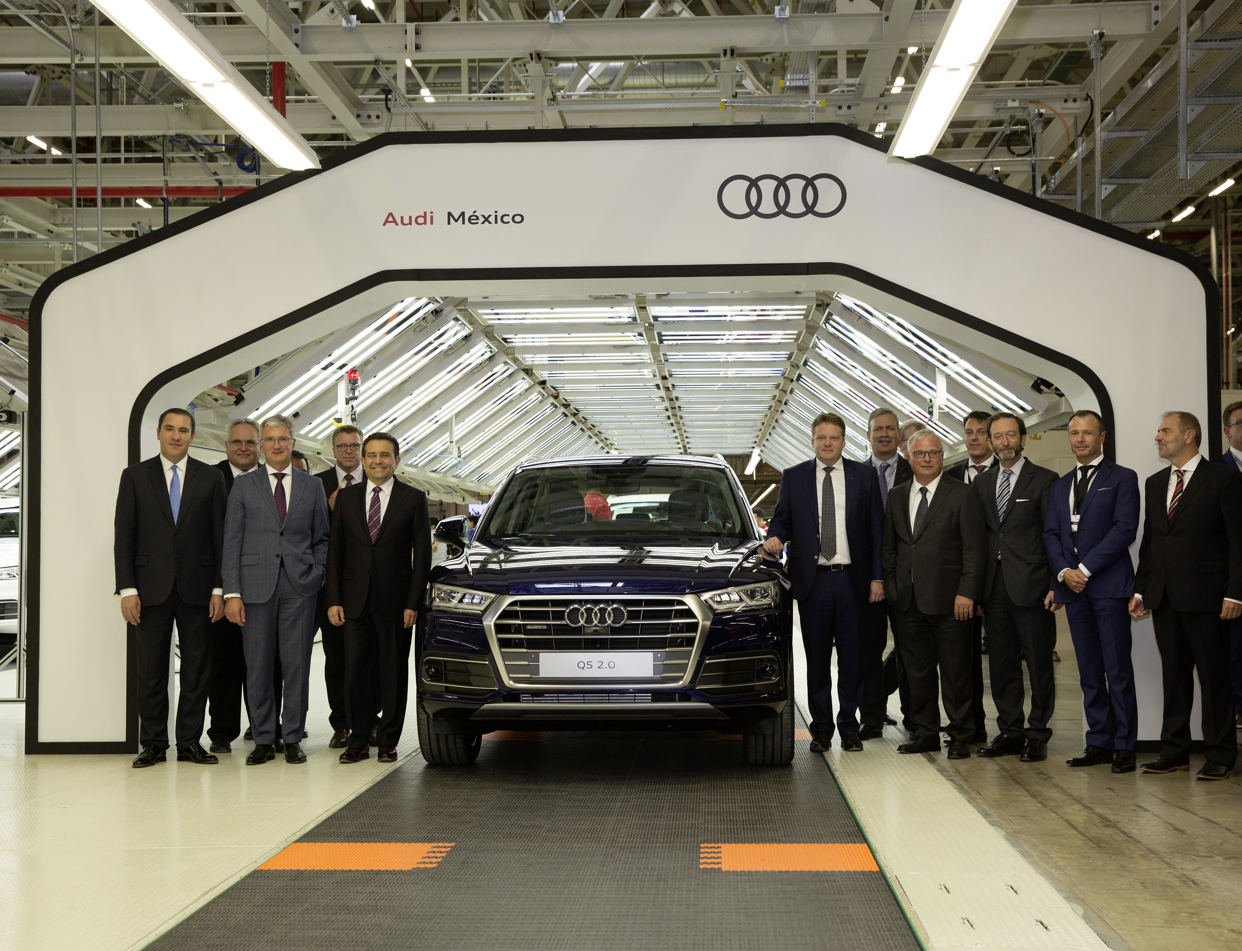 Smart Factory Audi Opens Advanced Manufacturing Plant In