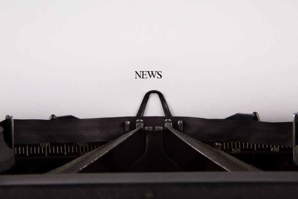 typewriter paper news