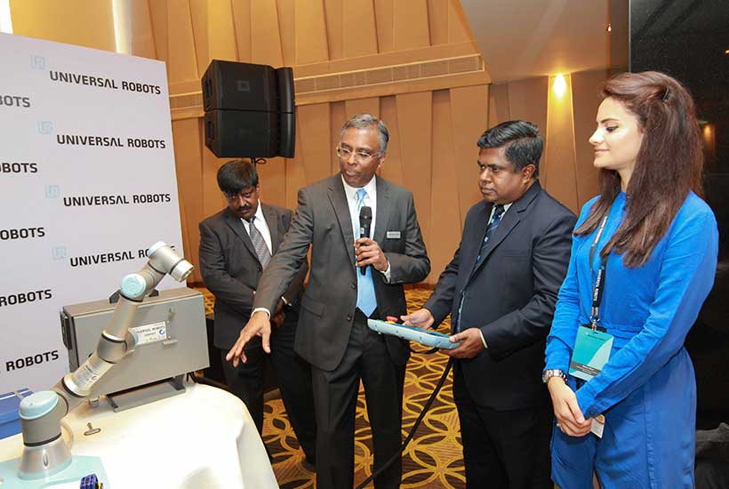Universal Robots launches in Sri Lanka