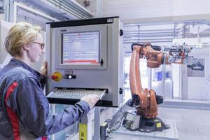 audi smart factory Remote maintenance portal