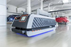 Audi autonomous ground vehicle