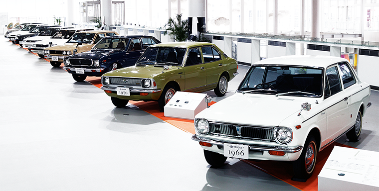 Generations of Toyota Corolla cars