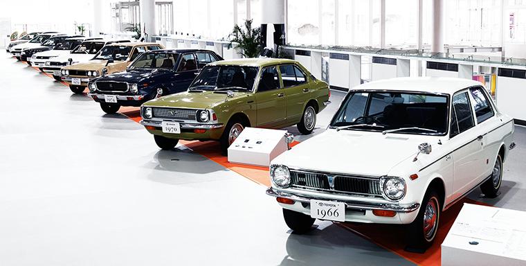 Generations Of Toyota Corolla Cars