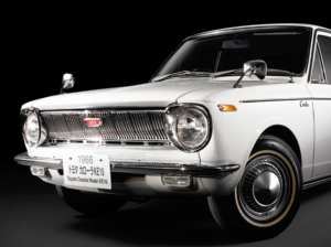 The first generation Toyota Corolla