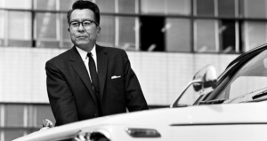Tatsuo Hasegawa, chief engineer for the first generation Corolla