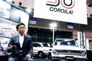 Yoshiki Konishi, current chief engineer for Corolla