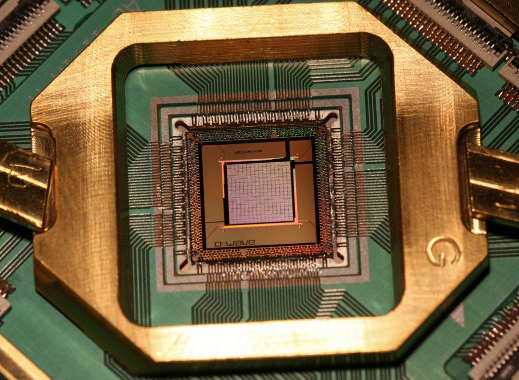 d-wave processor