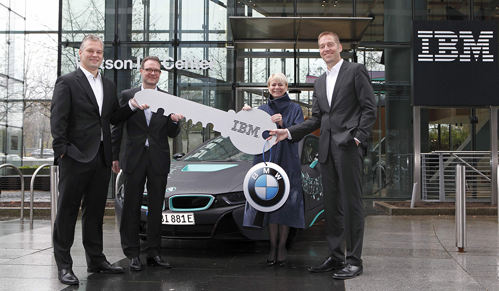 BMW to start research with IBM Watson artificial intelligence system