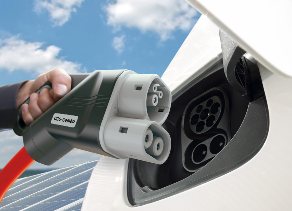 ccs charging point bmw pic