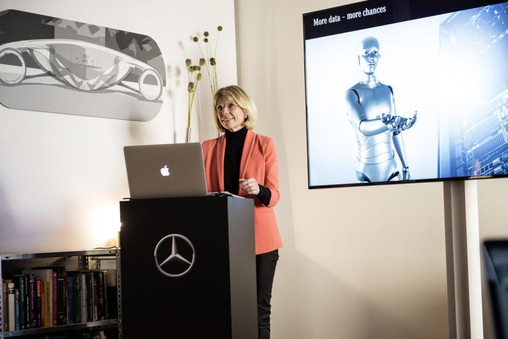 Anke Kleinschmit, head of Daimler research