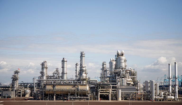 honeywell uop cps petrochemical plant