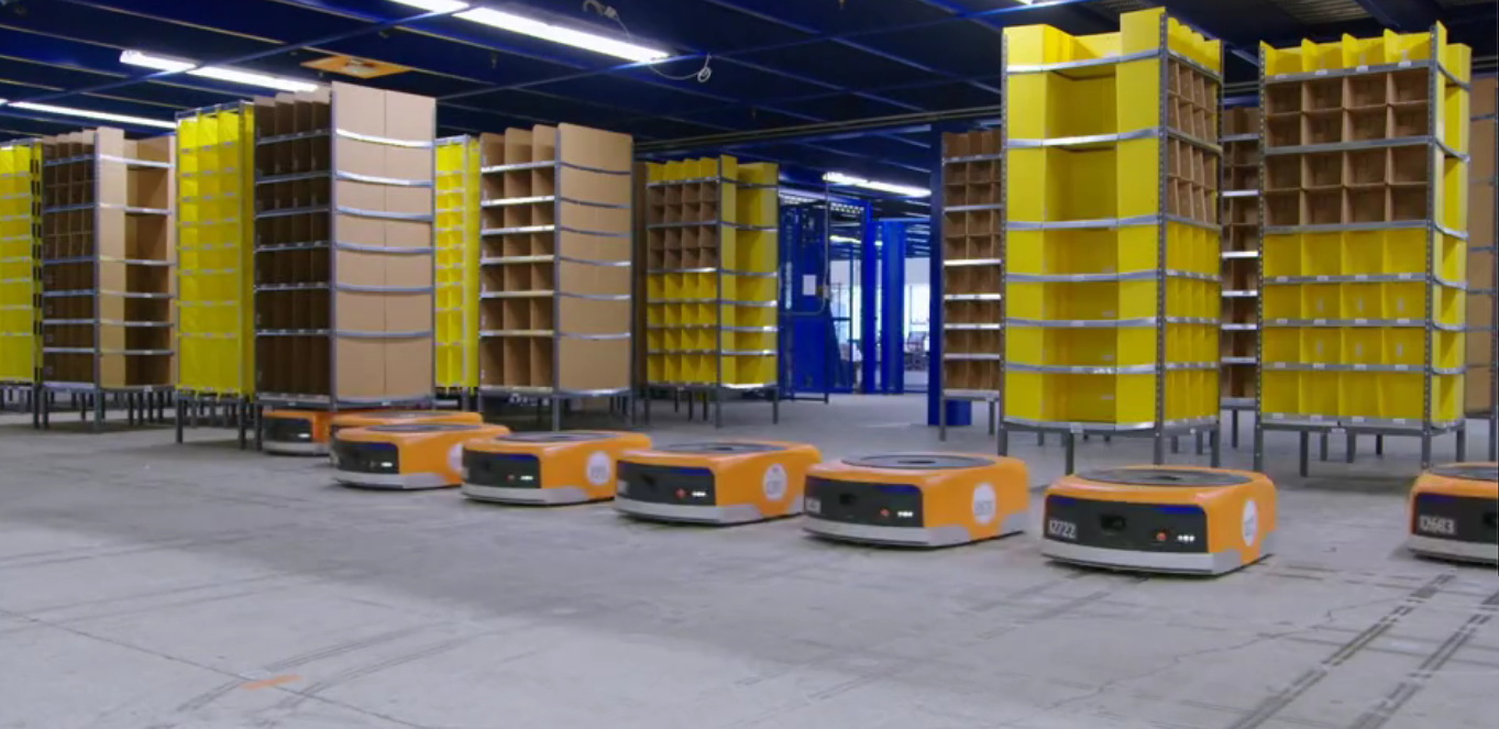 Amazon Has 45 000 Robots Working In Its Warehouses