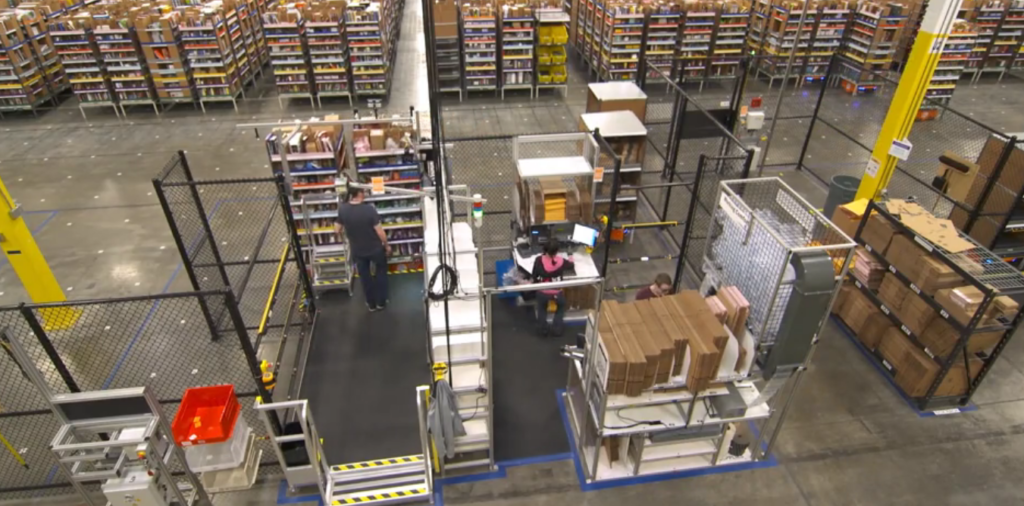 amazon robotics warehouse robot 1