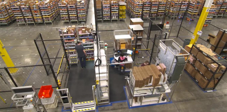 amazon robotics warehouse robot 1