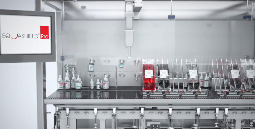 The Equashield Pro drug-compounding robotic system